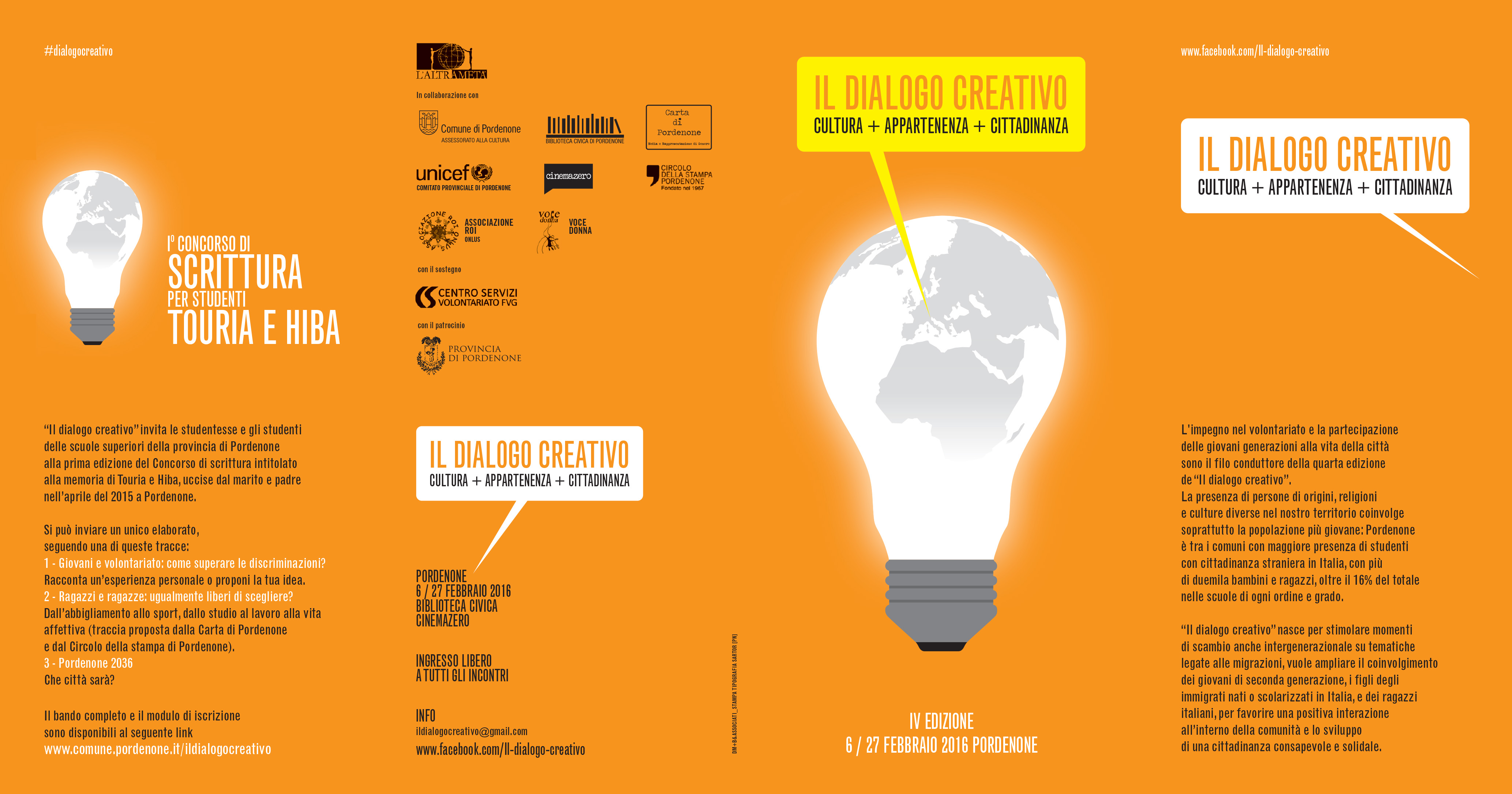 DIALOGO CREATIVO 2016