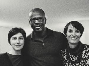 2014 Le curatrici con Lilian Thuram